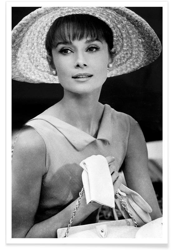 Audrey Hepburn 4 -Poster