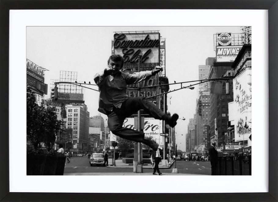 Tommy Steele at Times Square ingelijste print
