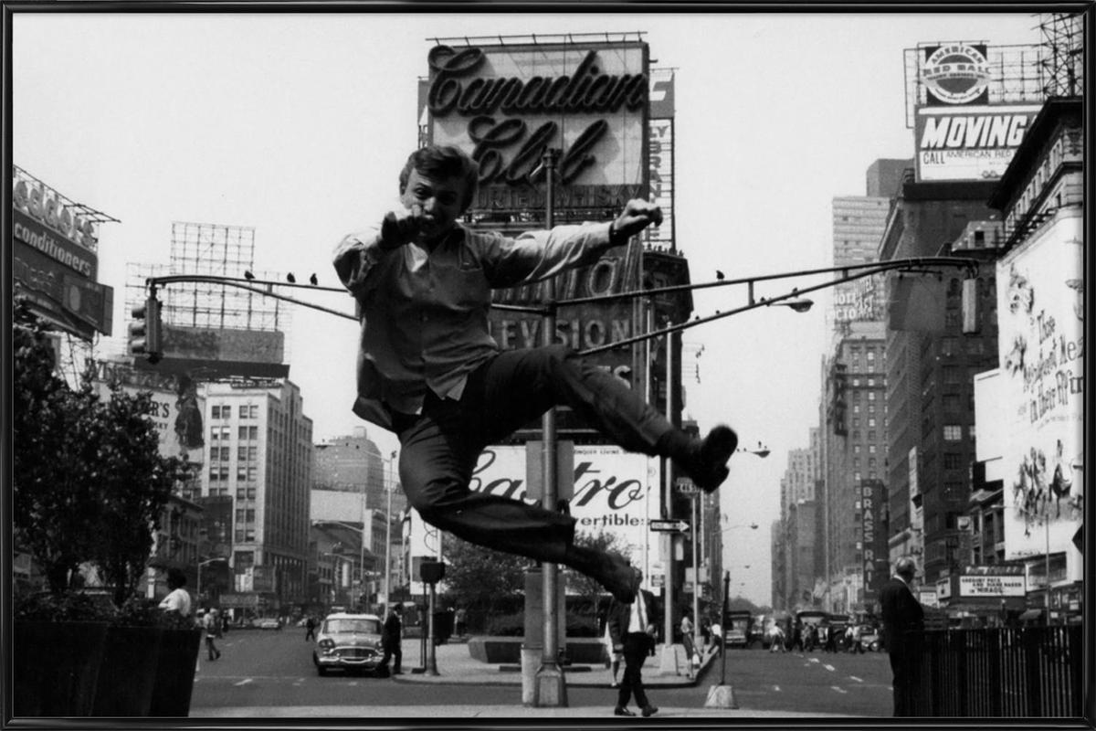 Tommy Steele at Times Square ingelijste poster