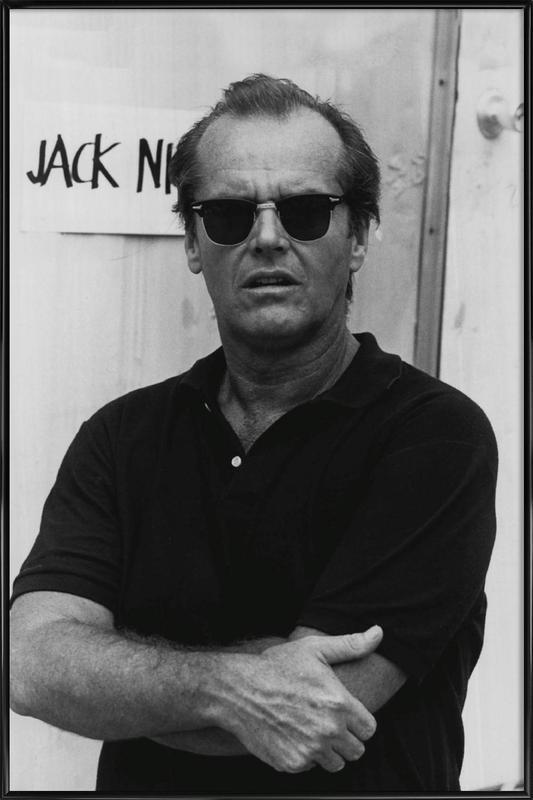 Jack Nicholson in Sunglasses Framed Poster
