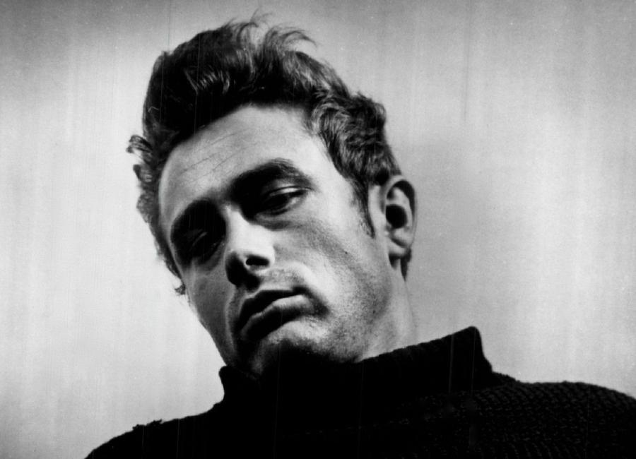 James Dean, 1955 -Leinwandbild