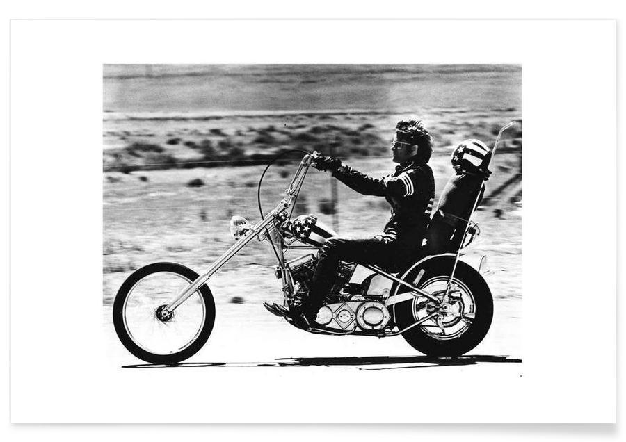 Peter Fonda Easy Rider 1969 Photograph Poster