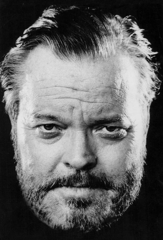 Orson Welles Impression sur alu-Dibond