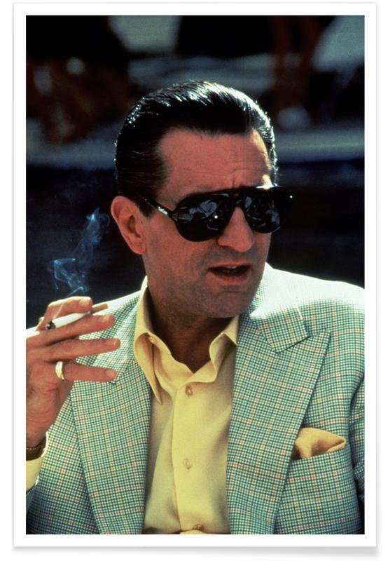Robert De Niro in Casino, 1995 Photograph Poster