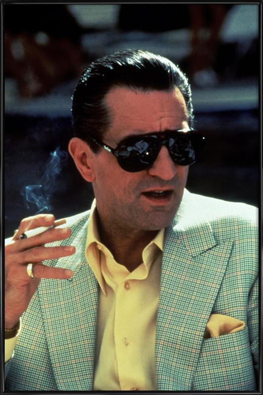 Robert De Niro in 'Casino', 1995 ingelijste poster