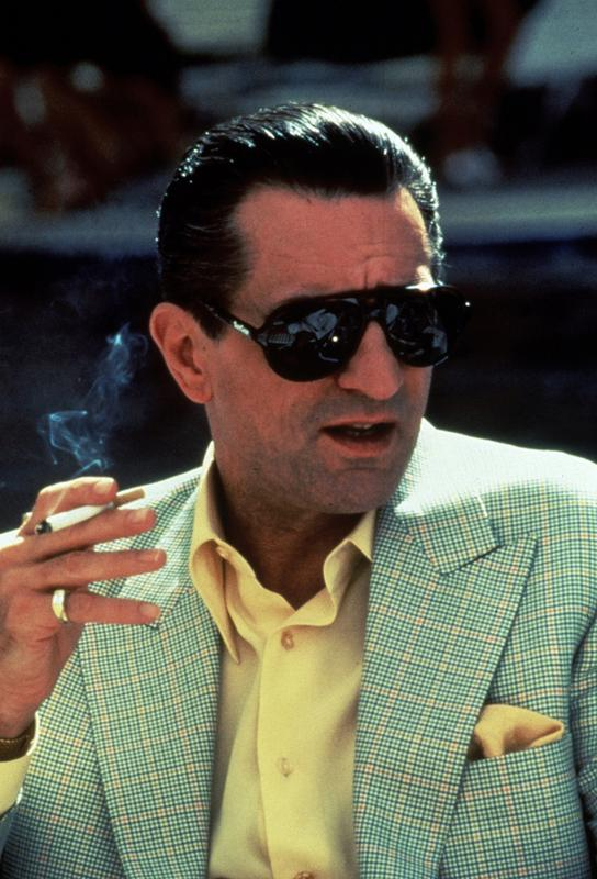 Robert De Niro in 'Casino', 1995 alu dibond