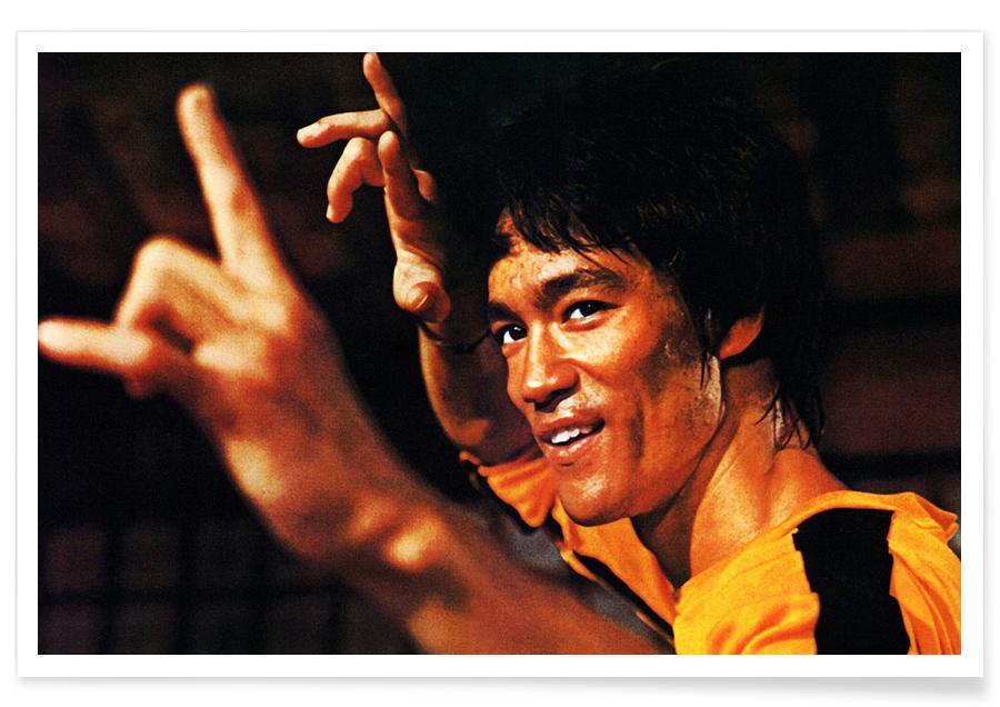 Bruce Lee in Mein letzter Kampf-Fotografie -Poster