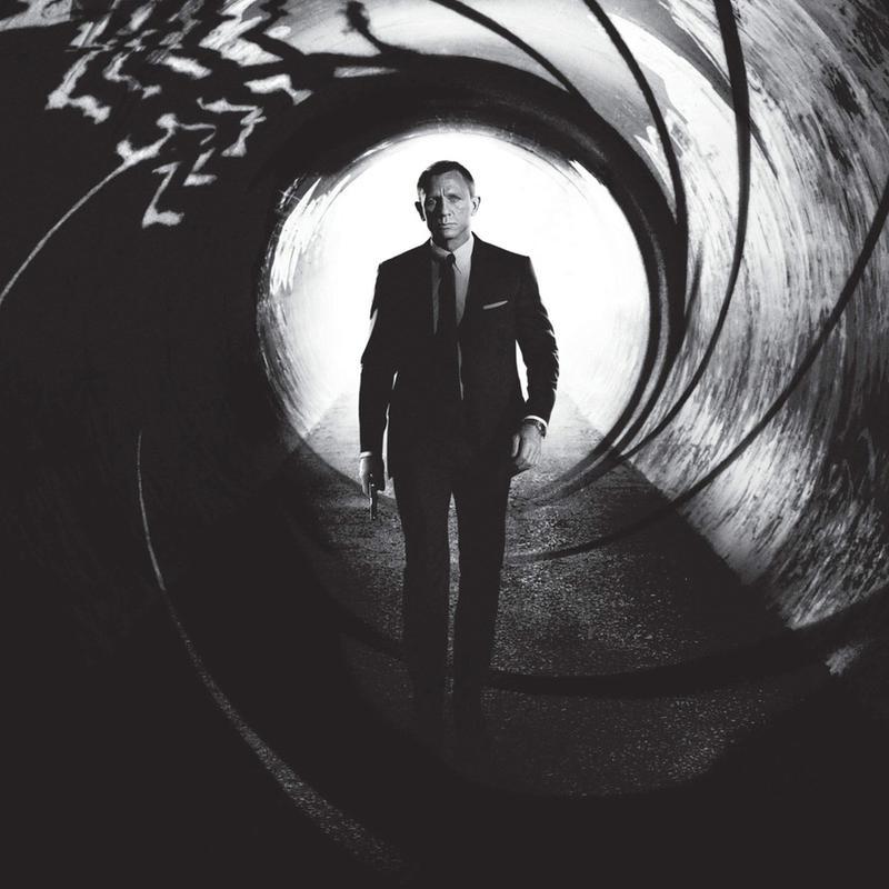 Daniel Craig in 'Skyfall' Canvas Print