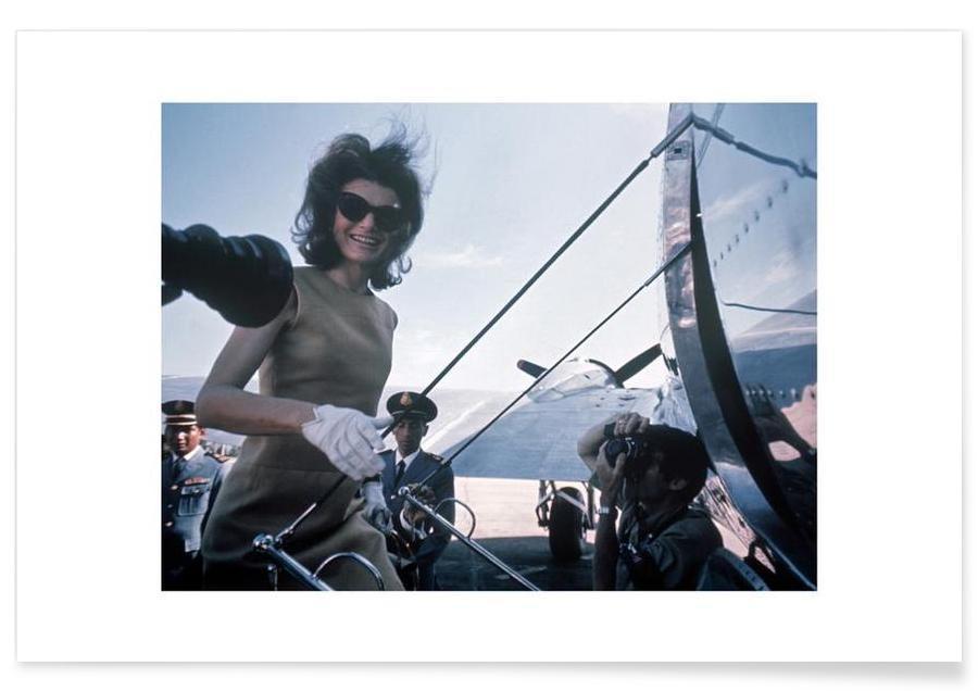 Foto van Jackie Kennedy, 1962 poster