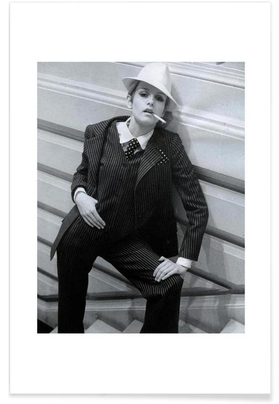 Twiggy Lawson, Februar 1967-Fotografie -Poster