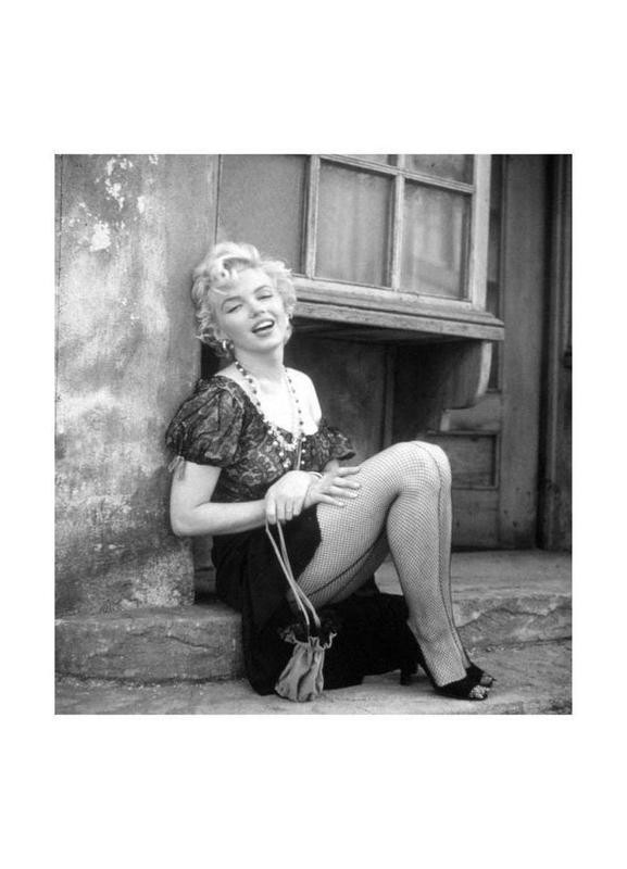 Marilyn Monroe in Bus Stop toile
