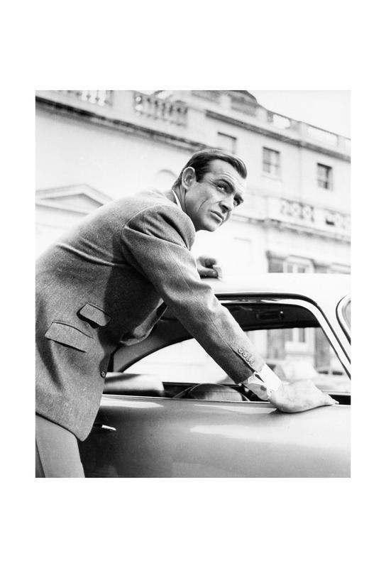 Sean Connery as James Bond in Goldfinger, 1964 Acrylglasbild | Dekoration > Bilder und Rahmen > Bilder