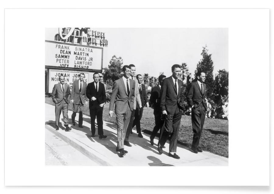 The Rat Pack, 1964 Photograph Poster