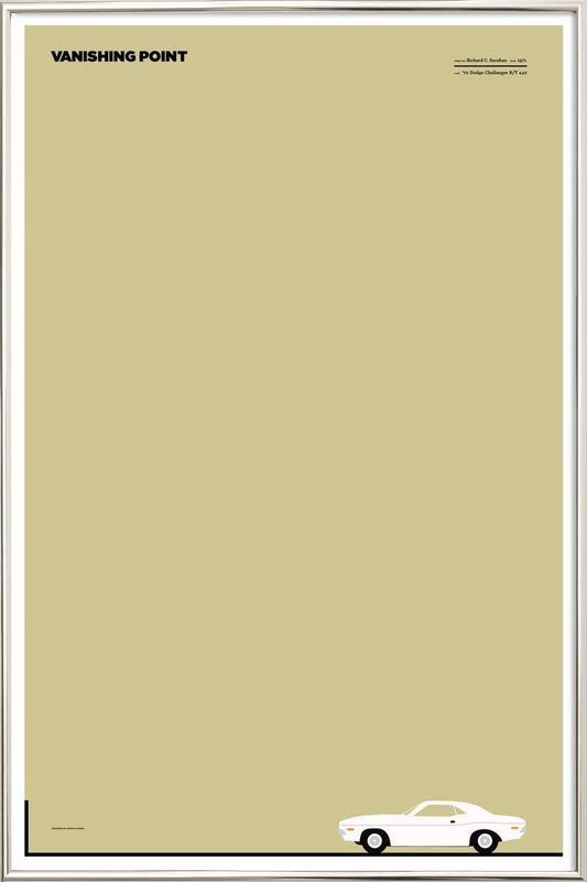 vanishing point poster in aluminium lijst