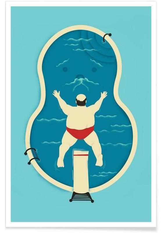 Belly Flop Victim Poster
