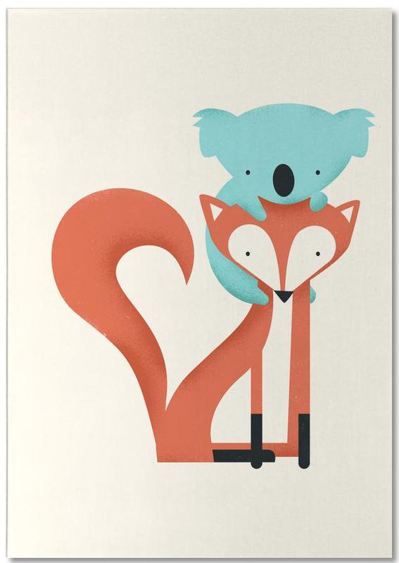 Fox and Koala Notepad