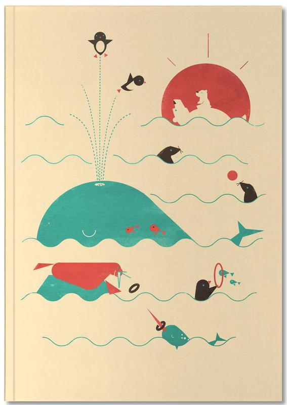 Arctic Playground Premium Notizbuch | Dekoration > Accessoires | Mehrfarbig | Papier