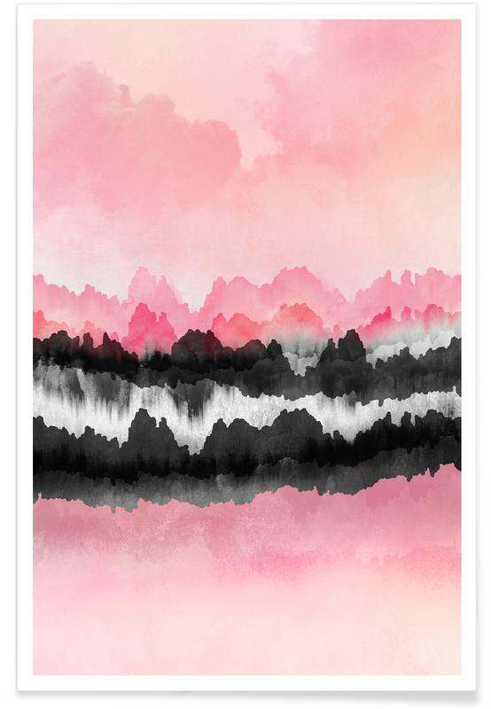 Pink Mountains -Poster