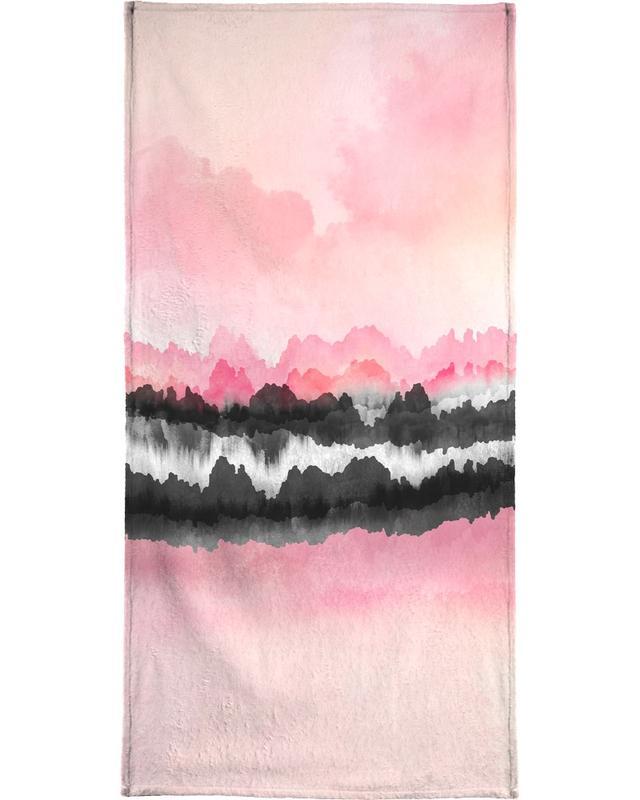 Pink Mountains -Strandtuch