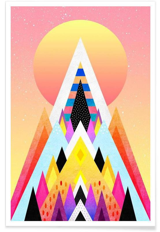 Bubblegum Mountain -Poster