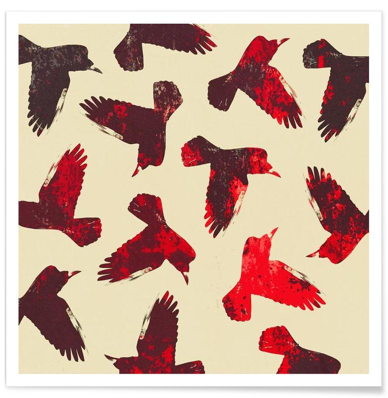 Birds 2 – Red -Poster
