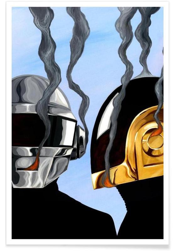 Daft Punk Deux poster