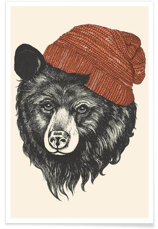 Zissou the Bear affiche