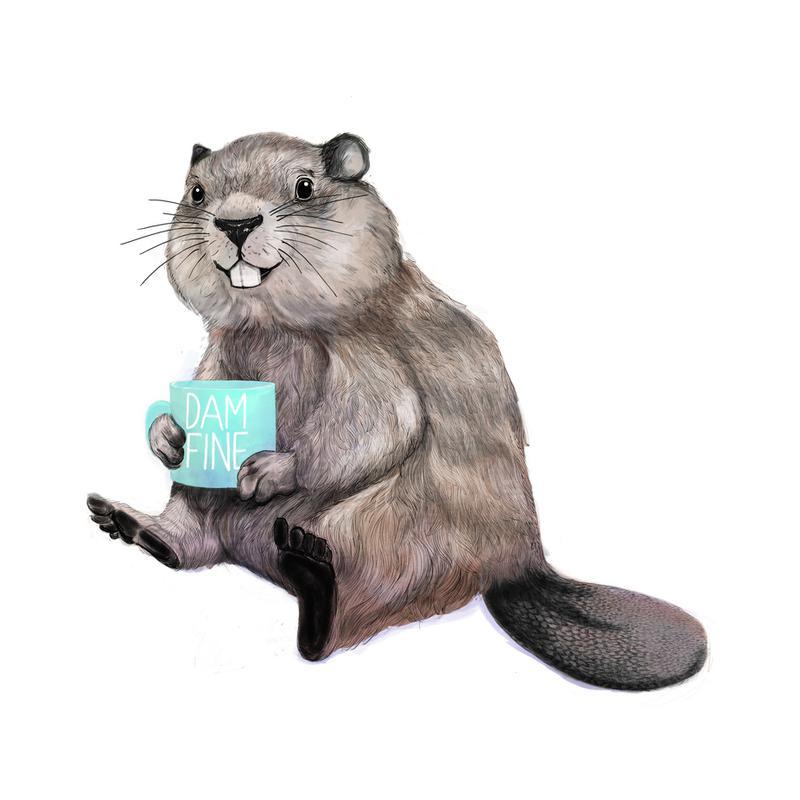 Damn Fine Coffee -Alubild