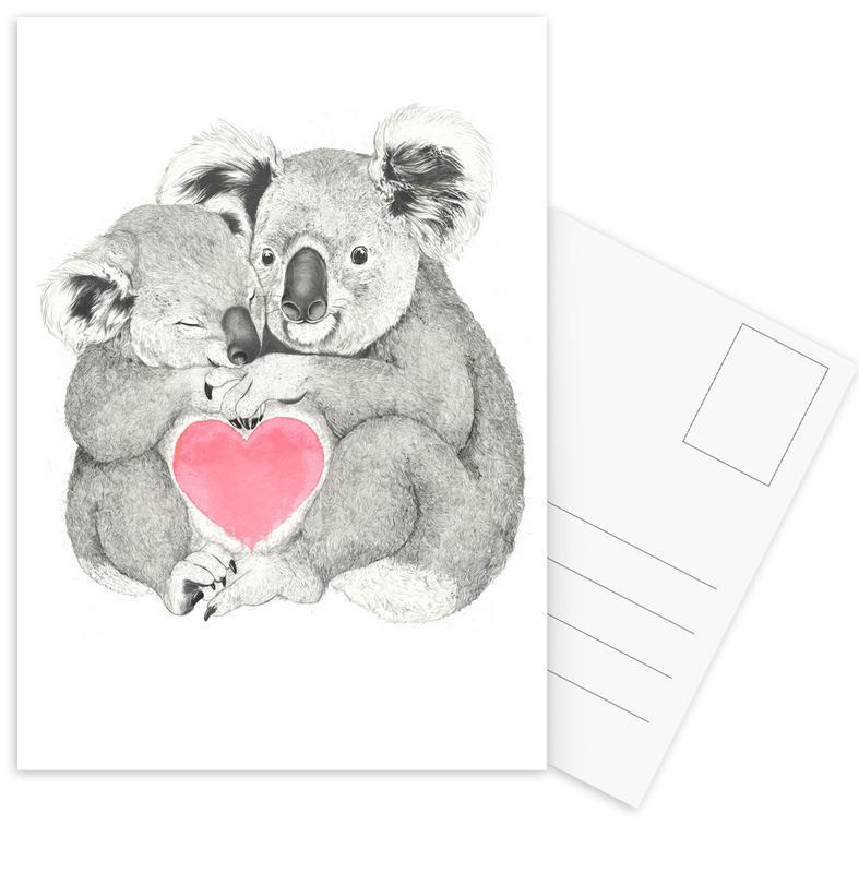 Koala -Postkartenset