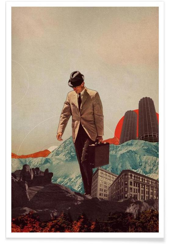 Leaving Their Cities Behind Poster