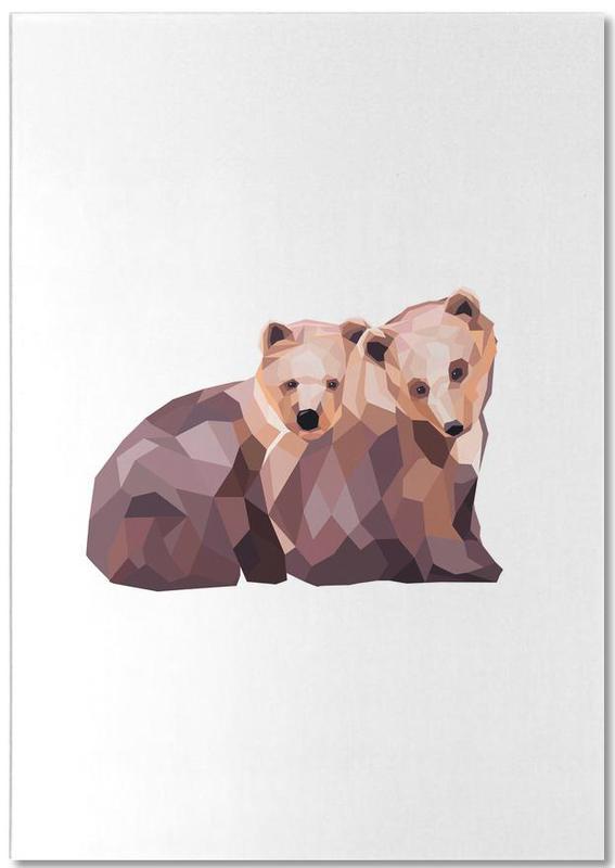 Mosa Bären Notizblock