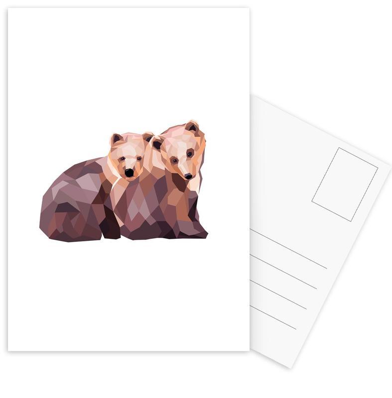 Mosa Bären Postkartenset