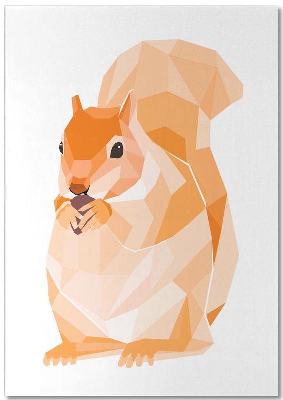 Mosa Eichhörnchen Notizblock