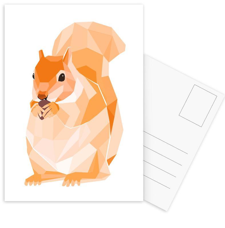 Mosa Eichhörnchen Postkartenset