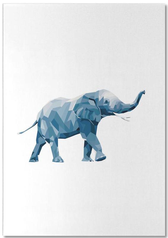 Mosa Elefant Notizblock
