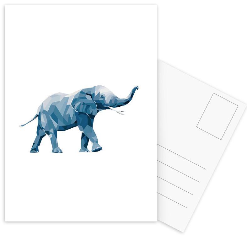 Mosa Elefant Postkartenset