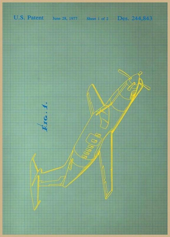 Airplane II Leinwandbild