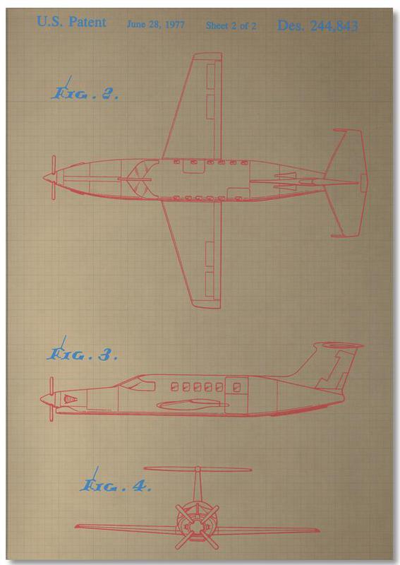 Airplane III Notizblock