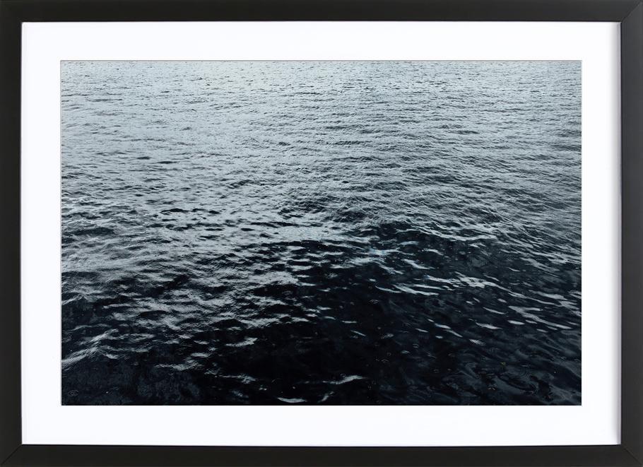 Terra Titanic Premium Poster gerahmt
