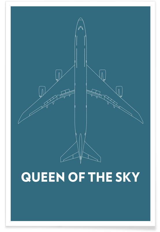 Queen of the Sky Boeing 747 Poster