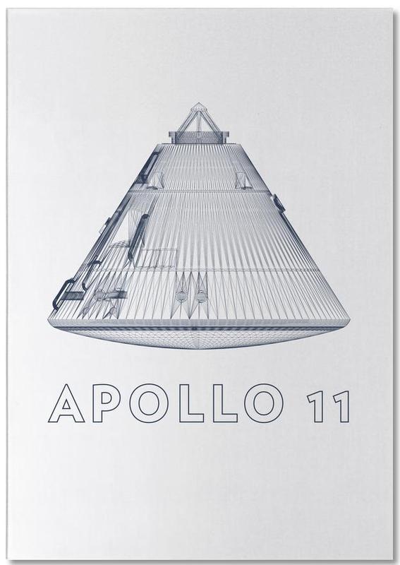 Apollo 11 3 -Notizblock
