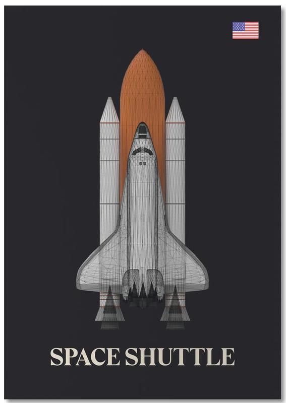NASA Space Shuttle 1 -Notizblock