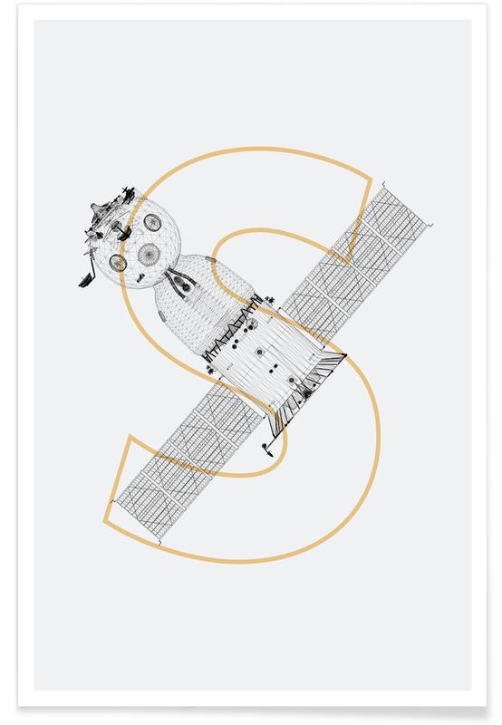 Sojus Modul-Rakete -Poster