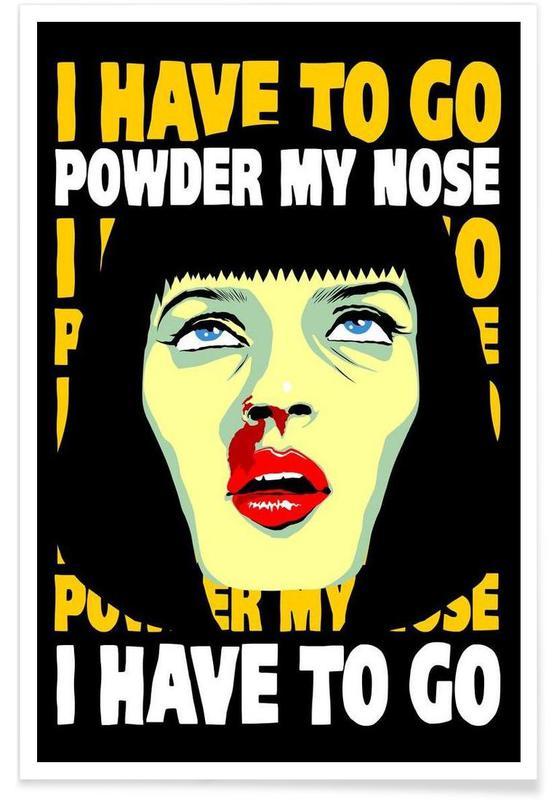 Powder My Nose affiche