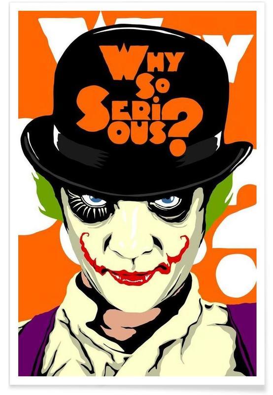 Clockwork Joker -Poster