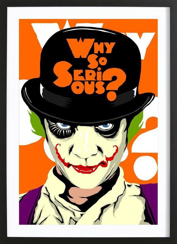 Clockwork Joker ingelijste print