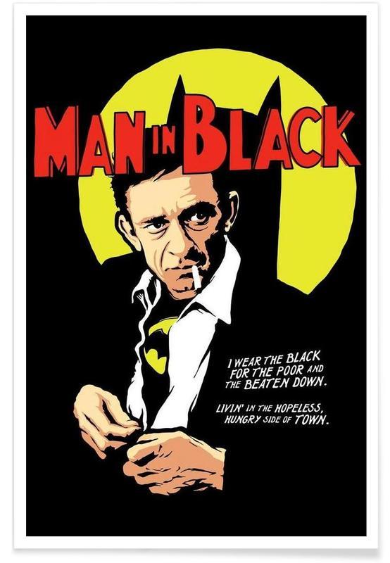 Man in Black Poster