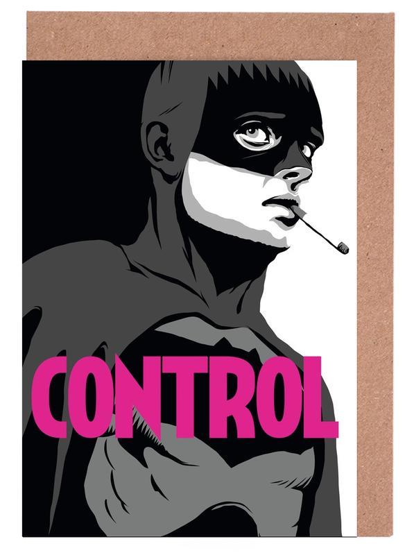 Bat-Control Greeting Card Set