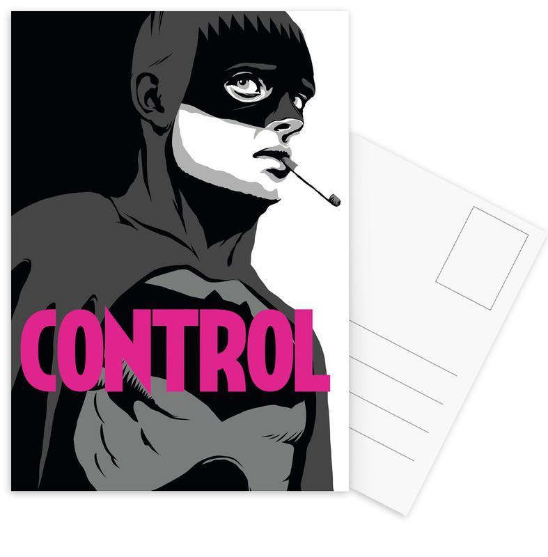 Bat-Control -Postkartenset