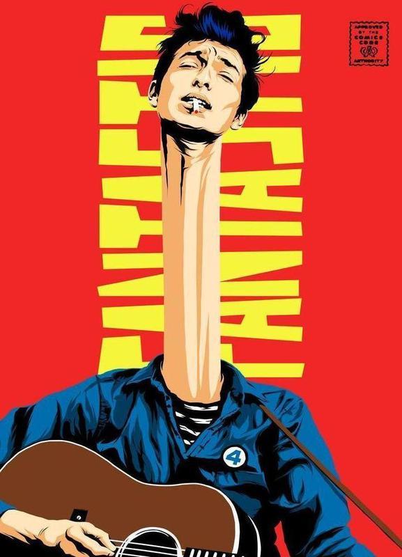 Dylan Mr. Fantastic -Leinwandbild